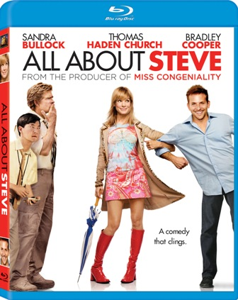 All About Steve was released on Blu-Ray and DVD on December 22nd, 2009.