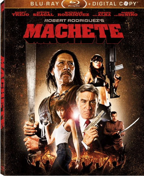 Machete was released on Blu-Ray and DVD on January 4th, 2011