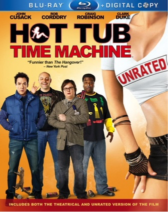 Hot Tub Time Machine was released on DVD and Blu-ray on June 29th, 2010