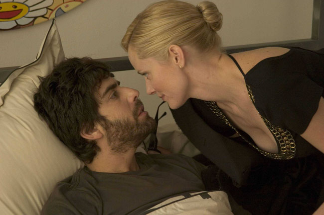 Adam Goldberg as Adrian and Marley Shelton as Madeleine in '(Untitled)'