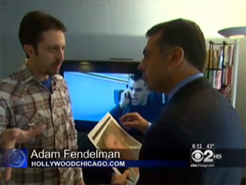 HollywoodChicago.com founder and publisher Adam Fendelman interviewed by CBS Chicago on Contagion