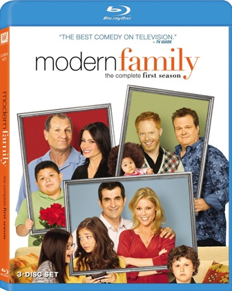 Modern Family: The Complete First Season was released on Blu-ray and DVD on September 21st, 2010