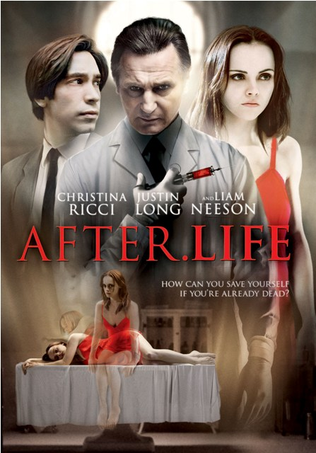 After Life will be released on DVD and Blu-ray on August 3rd, 2010