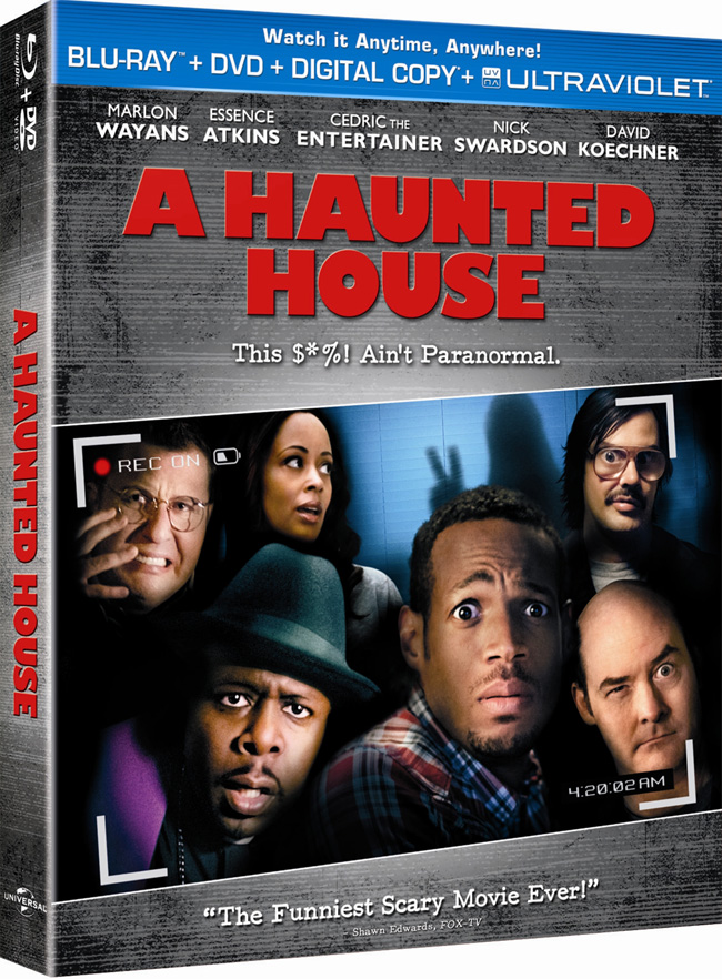 A Haunted House came to Blu-ray and DVD combo pack on April 23, 2013
