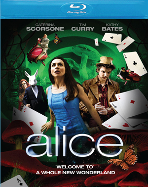 Alice was released on DVD and Blu-ray on March 2nd, 2010.