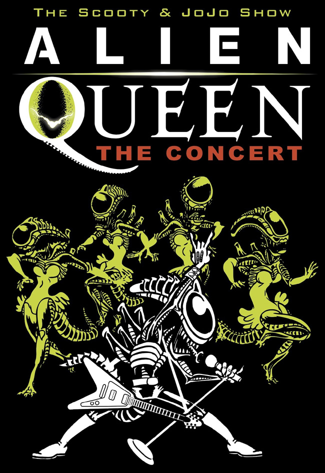 Alien Queen: The Concert at Metro from The Scooty and JoJo Show