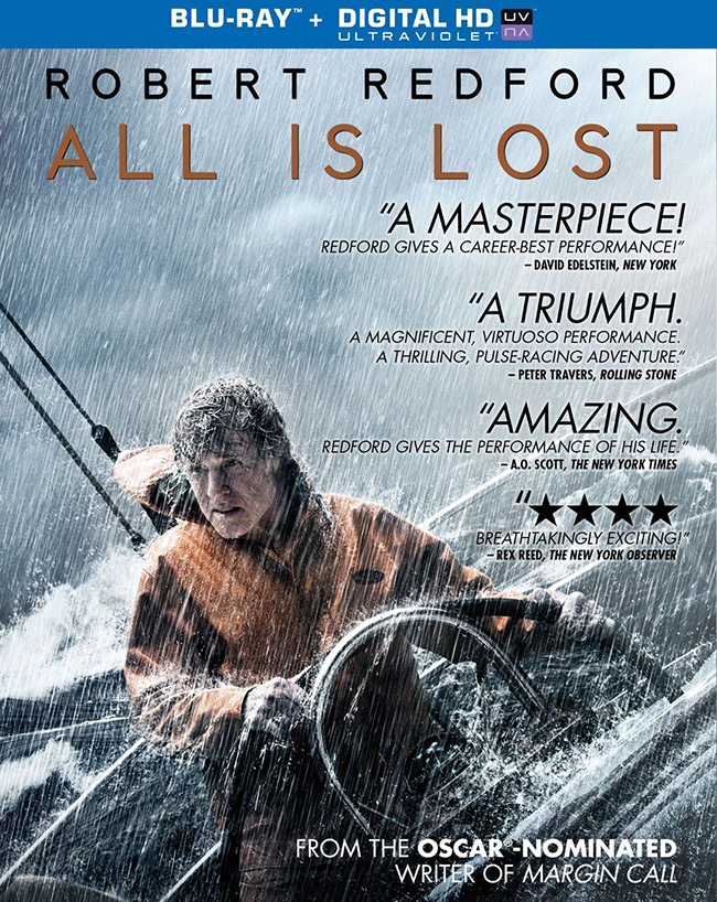 All is Lost Blu-ray