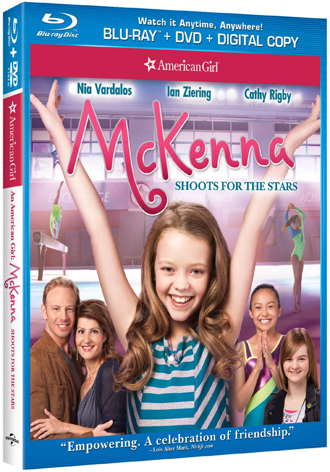 An American Girl: McKenna Shoots for the Stars comes to DVD on July 3, 2012