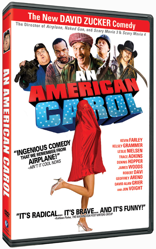The DVD for the David Zucker comedy An American Carol hits the streets on Dec. 30, 2008