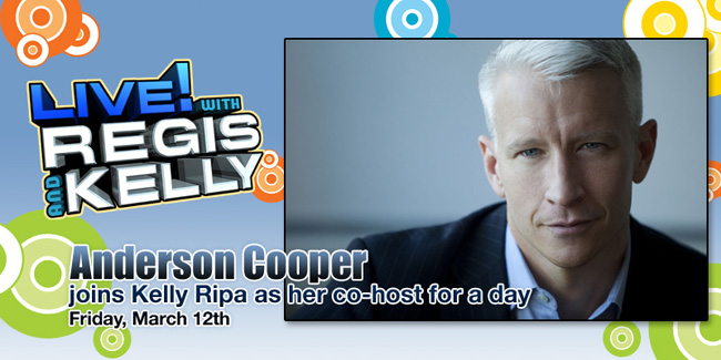 Anderson Cooper on LIVE! with Regis and Kelly