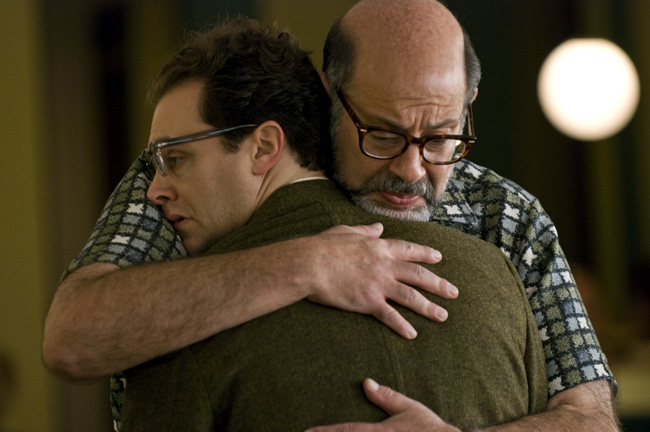 Michael Stuhlbarg and Fred Melamed in Joel and Ethan Coen's A Serious Man