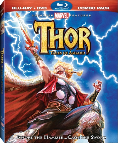 Thor: Tales of Asgard was released on Blu-Ray and DVD on May 17, 2011