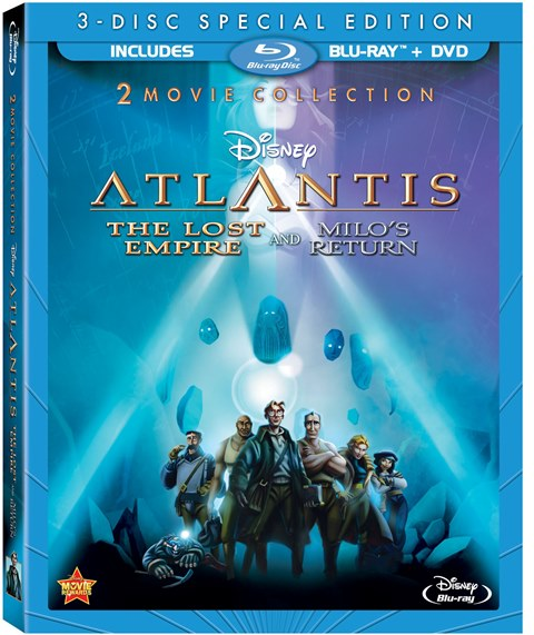 Atlantis: The Lost Empire was released on Blu-ray on June 11, 2013