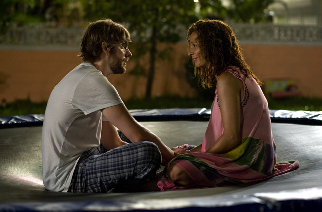 John Krasinski (left) stars as Burt and Maya Rudolph (right) stars as Verona in Sam Mendes' Away We Go