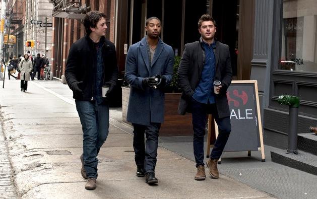 Zac Efron, Miles Teller, Michael B. Jordan