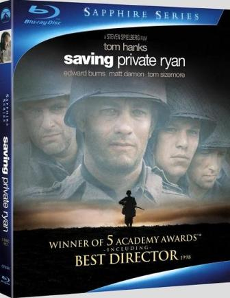 Saving Private Ryan was released on Blu-Ray on May 4th, 2010.