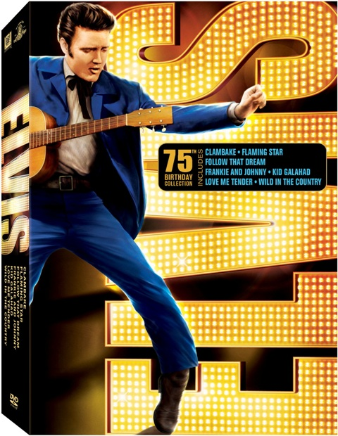 Elvis 75th Birthday Collection was released on DVD on June 8th, 2010