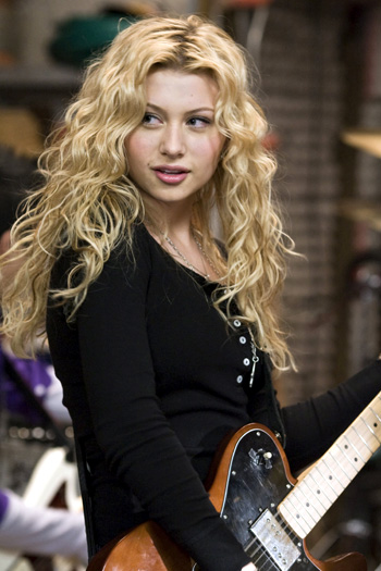 Alyson Michalka stars as Charlotte Banks in Bandslam