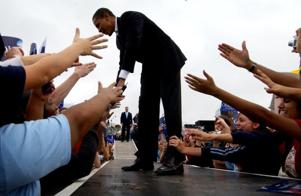 U.S. President Barack Obama in the HBO documentary By the People: The Election of Barack Obama