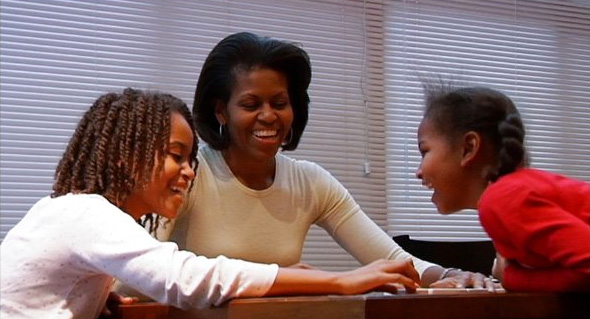 Michelle Obama in the HBO documentary By the People: The Election of Barack Obama