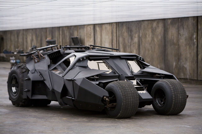 The Tumbler in The Dark Knight Rises