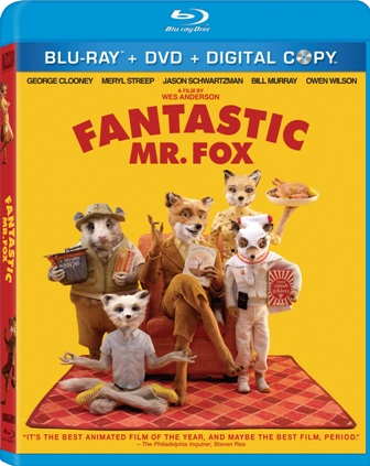Fantastic Mr. Fox was released on Blu-Ray and DVD on March 23rd, 2010.
