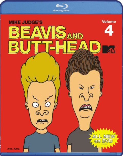 Beavis and Butthead: Volume 4 was released on Blu-ray and DVD on February 14, 2012