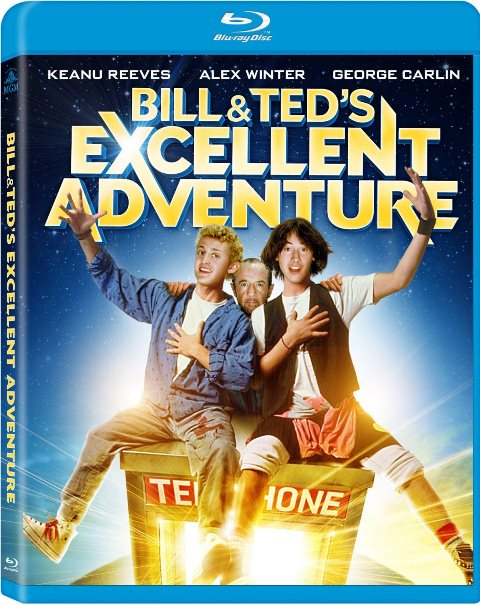 Bill and Ted's Excellent Adventure was released on Blu-ray and DVD on November 13, 2012