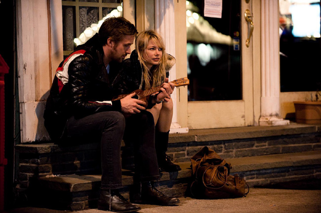 Ryan Gosling as Dean and Michelle Williams as Cindy in Derek Cianfrance's Blue Valentine