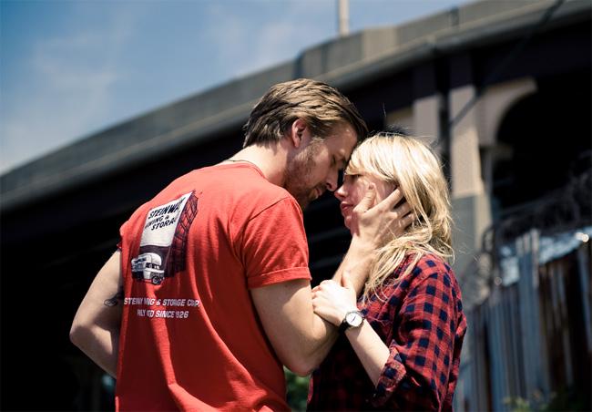 Ryan Gosling (left) and Michelle Williams in Derek Cianfrance's Blue Valentine