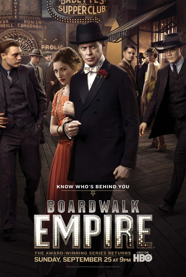 Season two of HBO's Boardwalk Empire debuts on Sept. 25, 2011 at 9 p.m. ET/PT