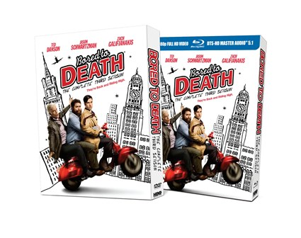Bored to Death: The Complete Third Season was released on Blu-ray and DVD on September 4, 2012
