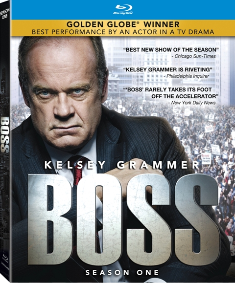 Boss: Season One was released on DVD and Blu-ray on July 24, 2012