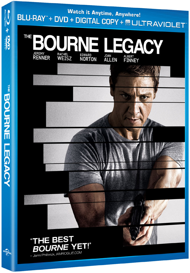 The Bourne Legacy comes to Blu-ray and DVD combo pack on Dec. 11, 2012