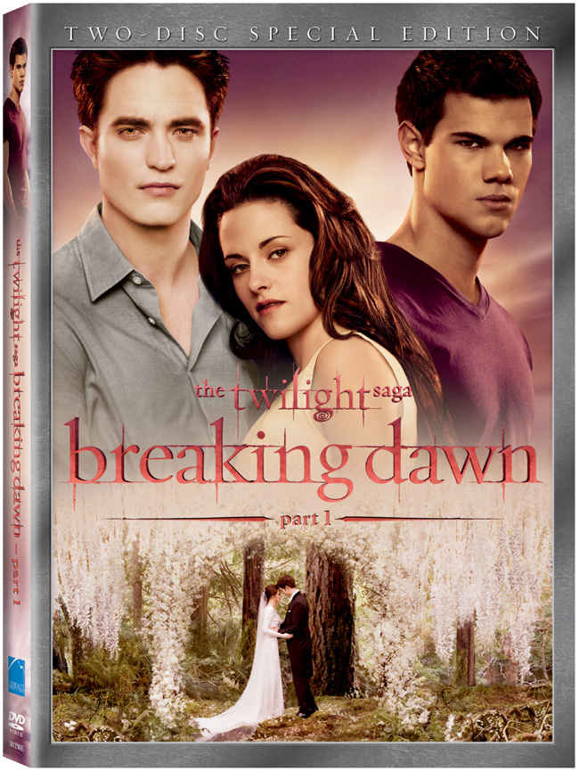 The Twilight Saga: Breaking Dawn -- Part 1 will be released on DVD and Blu-ray on Feb. 11, 2012