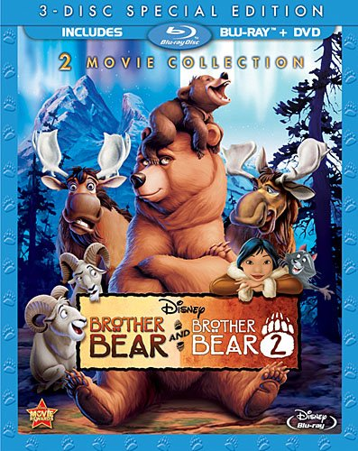 Brother Bear 2 Movie Collection was released on Blu-ray on March 12, 2013