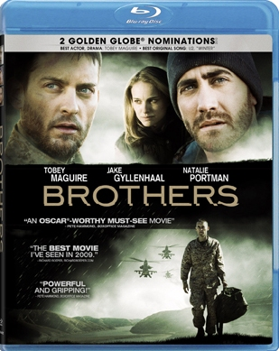 Brothers was released on Blu-Ray and DVD on March 23rd, 2010.