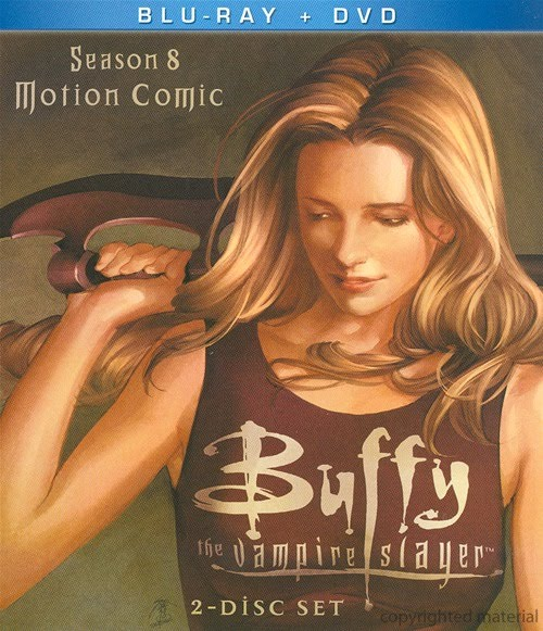 Buffy the Vampire Slayer: Season 8 Motion Comic was released on Blu-Ray and DVD on January 4, 2011