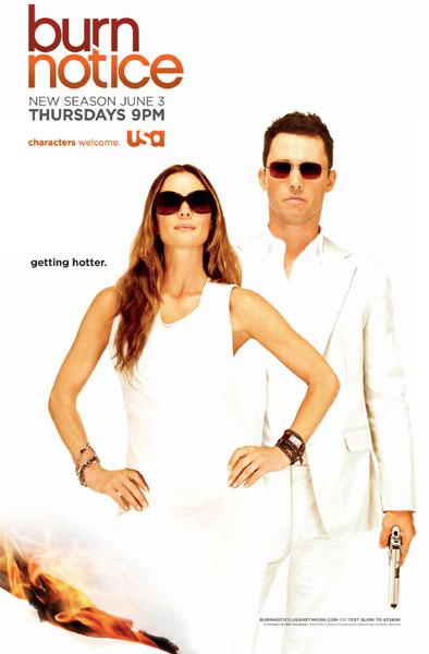 Season four of USA Network's Burn Notice