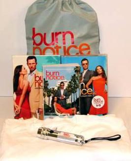 Burn Notice prize pack