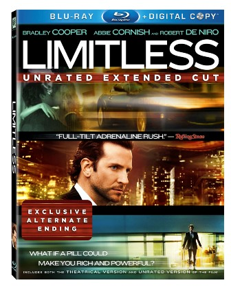 Limitless was released on Blu-Ray and DVD on July 19th, 2011