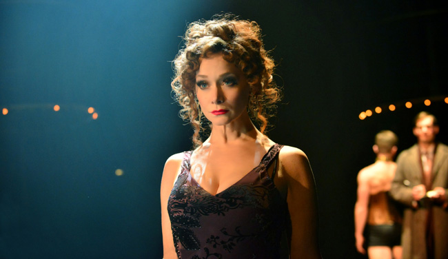 Christine Sherrill as Fraulein Kost in Cabaret