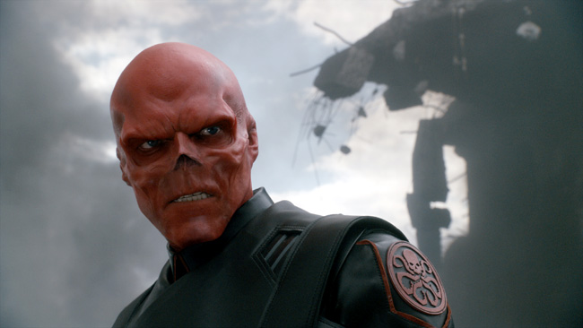 Hugo Weaving as Red Skull Stanley in Captain America: The First Avenger