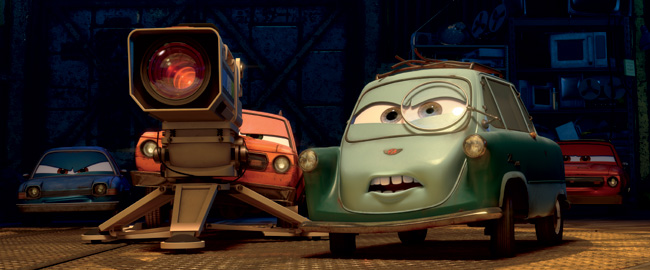 Thomas Kretschman voices Professor Z in Cars 2