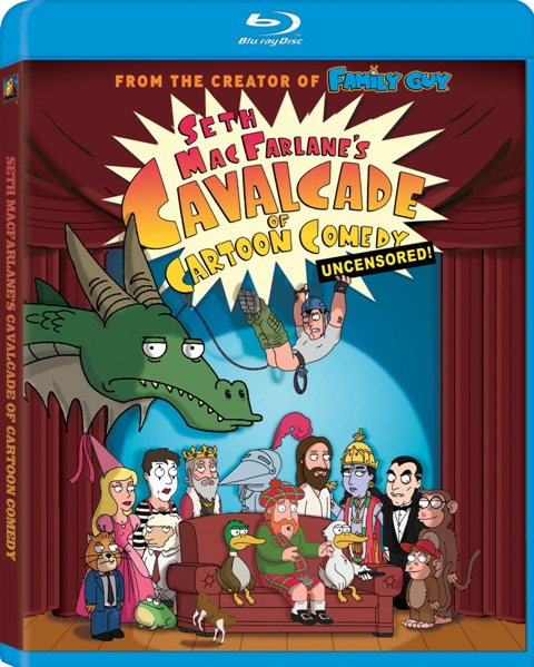 Seth MacFarlane's Cavalcade of Comedy was released on Blu-Ray on May 12th, 2009.