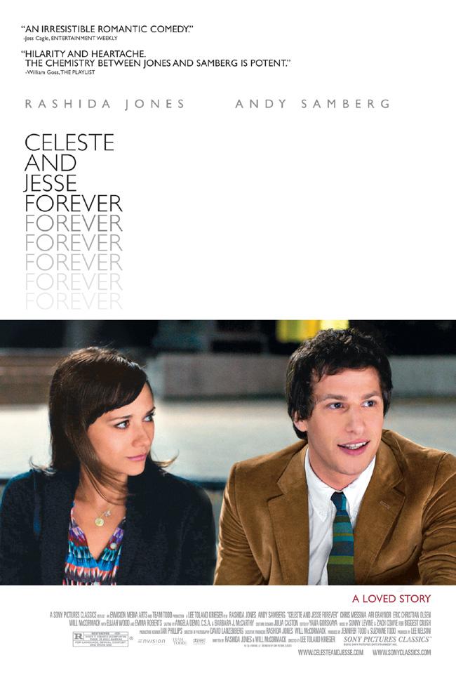 The Celeste and Jesse Forever starring Andy Samberg and Rashida Jones