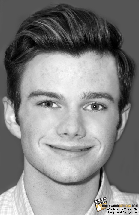 Glee star Chris Colfer