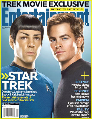 Star Trek, J.J. Abrams, Zachary Quinto, Chris Pine