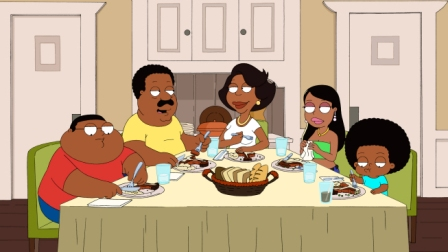 THE CLEVELAND SHOW is a new animated series that follows everyone's favorite soft-spoken neighbor, CLEVELAND BROWN, to his hometown in Virginia as he settles down with his high school sweetheart, her unruly kids and his own 14-year-old son on the series premiere of THE CLEVELAND SHOW Sunday, Sept 27 (8:30-9:00 PM ET/PT) on FOX.