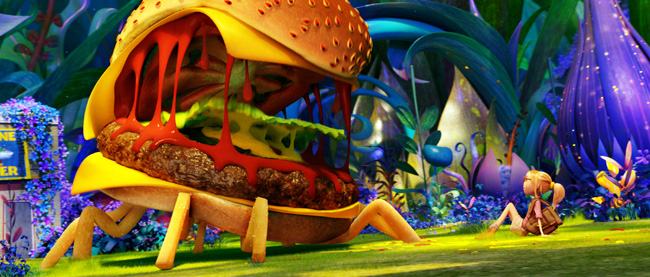 Anna Faris in Cloudy with a Chance of Meatballs 2